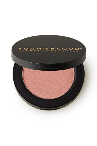 Young Blood Pembe Tonlarda Sıkıştırılmış Mineral Allık Blossom Pressed Blush 3 gr696137080055