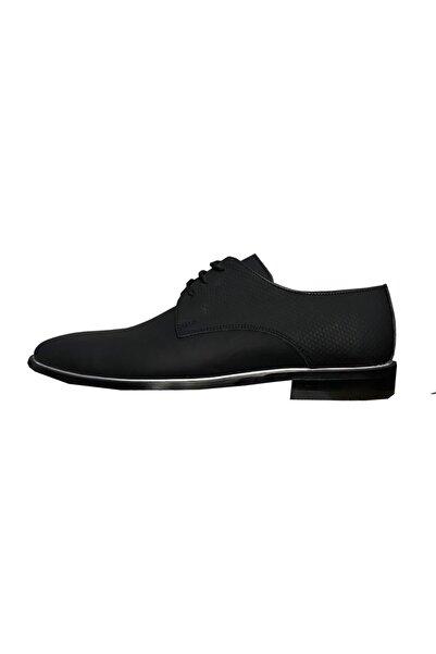 SÜVARİ Erkek Siyah Tam Deri Klasik Ayakkabı