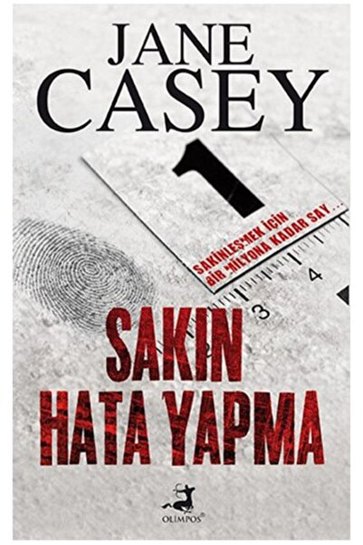 Olimpos Yayınları Sakın Hata Yapma Jane Casey