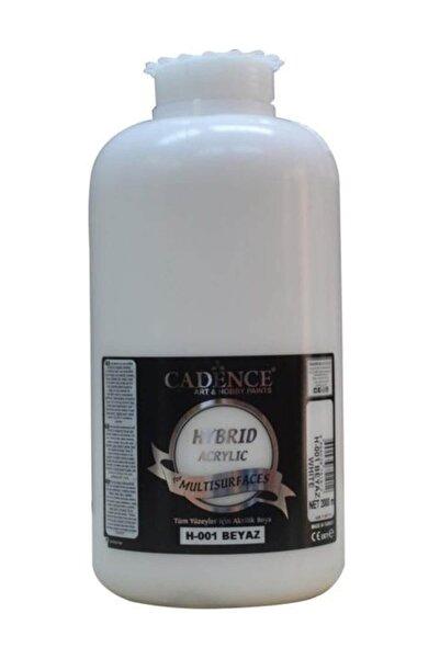 Cadence Beyaz Hybrid Multisurface Akrilik Boya 2  lt H-001