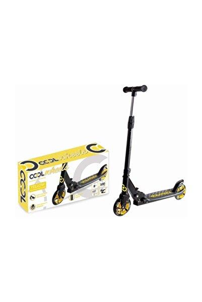 Cool Wheels Sarı Katlamalı 2 Tekerlekli Dev Teker Scooter +8 Yaş