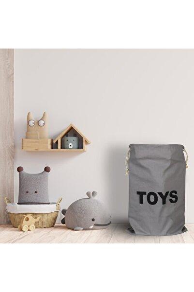 UDS 50x70 Toys Baskılı Kalın Kumaş Oyuncak Torbası