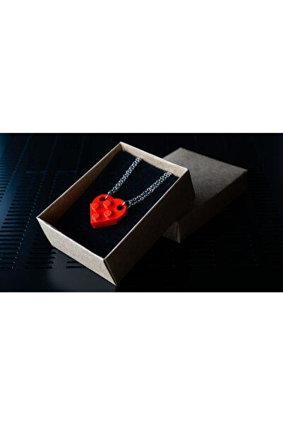 LEGO Çift Kolyesi Kırmızı