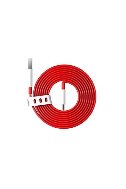 Oneplus C202a Type-c Şarj Ve Data Kablosu Kırmızı 1 Metre