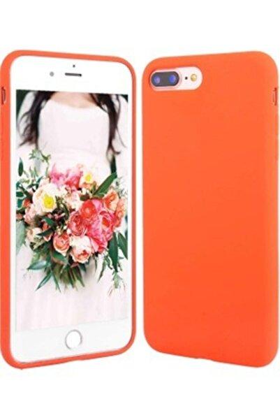 Teknoçeri Iphone 7 Plus 8 Plus Uyumlu Içi Kadife Lansman Silikon Kılıf