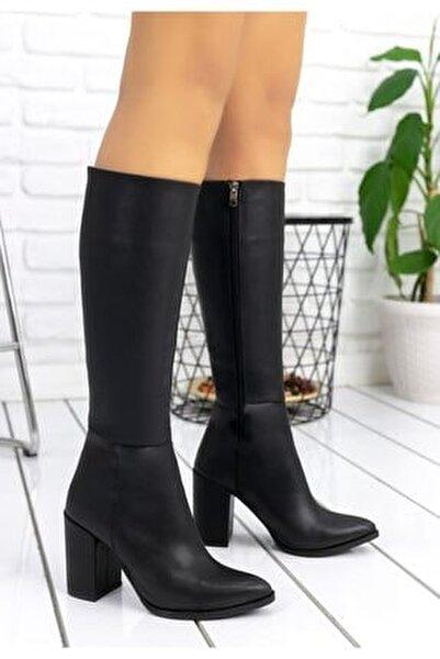 Morena Siyah Cilt Çizme