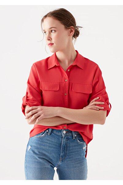 Mavi Kırmızı Gömlek