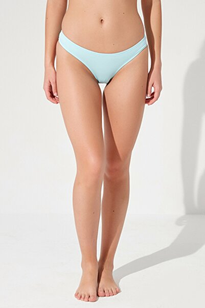 Penti Kadın Mavi Basic Cheeky Bikini Altı