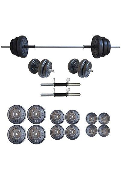 Moccastyle Moccadiamond Halter Seti Dambıl Seti Ağırlık Ve Vücut Geliştirme Aleti 65 kg