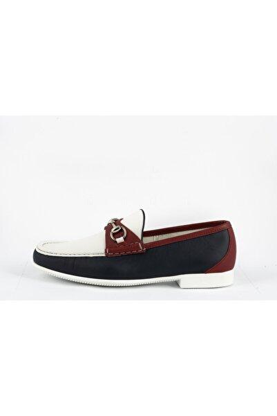Gucci Erkek Beyaz Loafer Ayakkabı