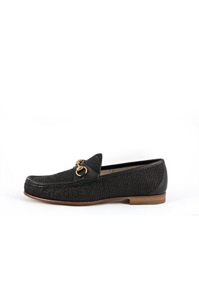 Gucci Erkek Siyah Loafer Ayakkabı