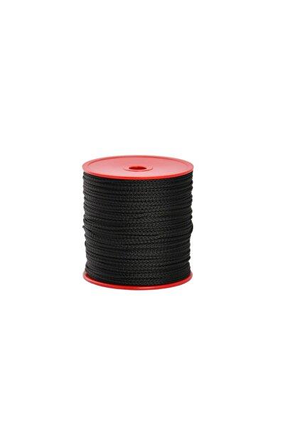 Globe 2,0 Mm Polyester Çok Amaçlı Ip Halat - Siyah - 150 M. - Makaralı