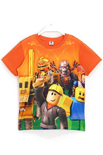 Roblox 3d Baskılı Erkek Çocuk Kısa Kollu Yazlık T-shirt