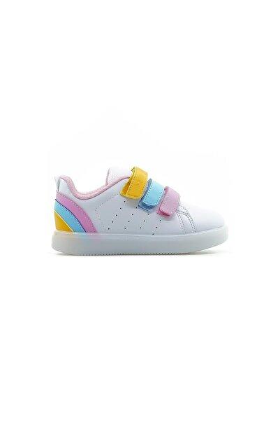Vicco Kız Çocuk Işıklı Sneaker Spor Ayakkabı