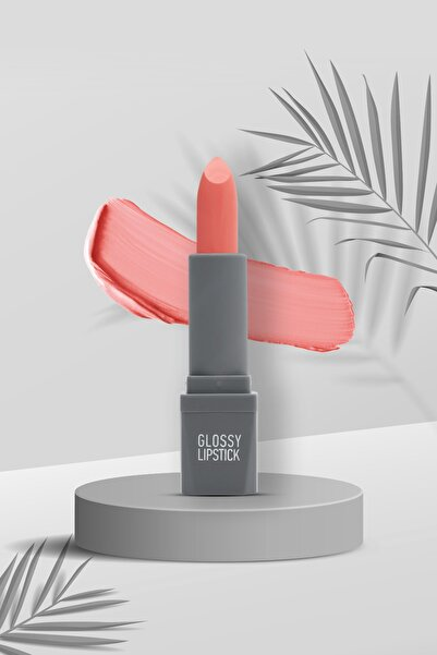 Alix Avien Turuncu Ruj Glossy Lipstick 102