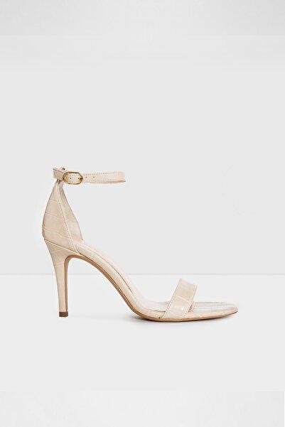 Aldo Kumo-tr - Krem Kadın Topuklı Sandalet