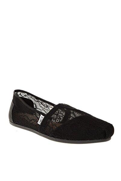 Toms Kadın Siyah Koşu Ayakkabı