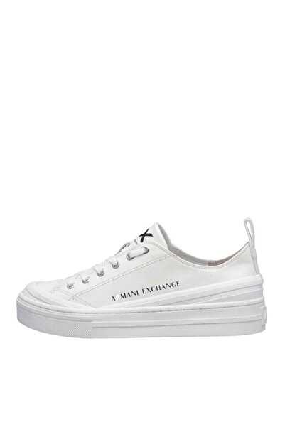Armani Exchange Kadın Beyaz Sneakers