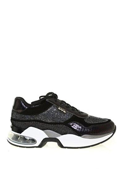Karl Lagerfeld Kadın Siyah Ventura Lazare Glitz Mix Sneaker