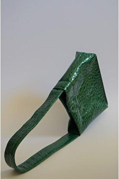Kadın Yeşil Veggy Omuz Çantası
