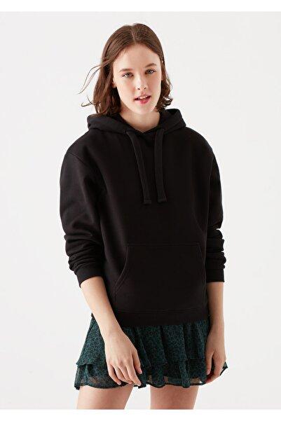 Mavi Kapüşonlu Siyah Sweatshirt 167299-900