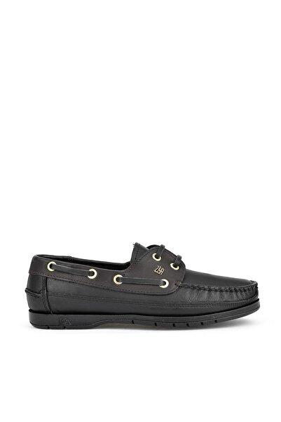 Ziya Kadın Siyah Hakiki Deri Ayakkabı 111423 29k