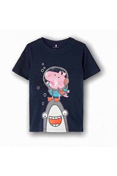 name ıt Unisex Peppa Pig Baskılı T-shirt