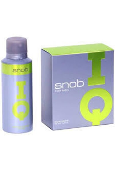 Snob Orıjınal Snop Iq Edt 100 ml Erkek Parfümü + Snop Deodorant 150 ml