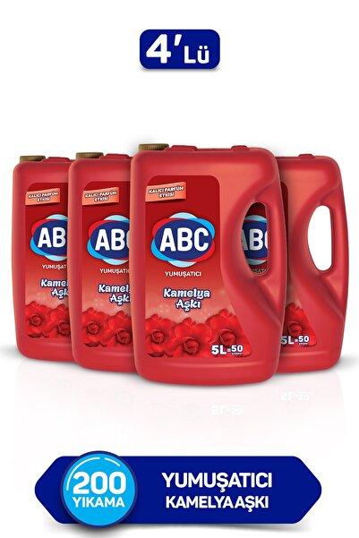 ABC Yumuşatıcı Kamelya Aşkı 5 Lt 4'lü Set
