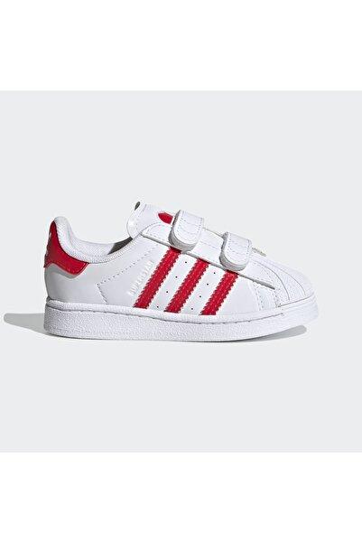 adidas Unisex Bebek Beyaz Ayakkabı Fz0644