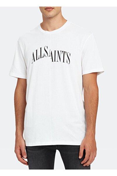 AllSaints Erkek Beyaz T-Shirt
