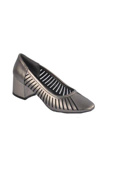 Maje Kadın Platin Topuklu Ayakkabı