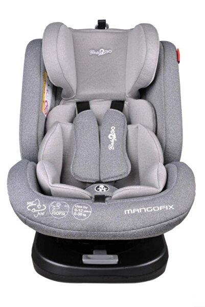 Baby2Go Mangofix 360 Derece Dönebilen Yatabilen Isofixli 0-36 Kg Çocuk Oto Koltuğu - Denim Gray