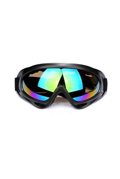 multidem Erkek Siyah Rüzgar Geçirmez Kayak Güneş Gözlüğü