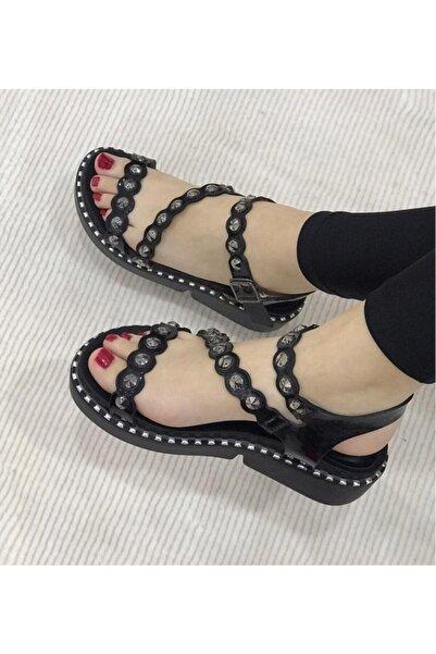 Guja Kadın Yazlık Godhic Zımbalı Sandalaet Ayakkabı