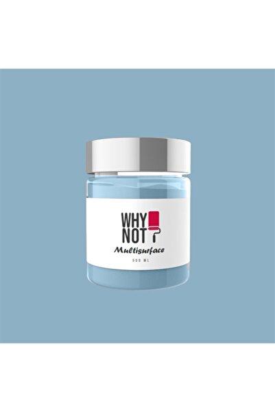 WHY NOT Blue Gray Multisurface Kendinden Vernikli Akrilik Boya 500ML