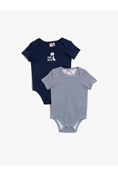 Koton Erkek Bebek Lacivert Bebek Body & Zıbın