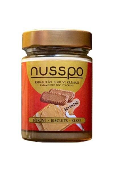 NUSSPO Sürülebilir Karamelize Bisküvi Ezmesi 350 Gr
