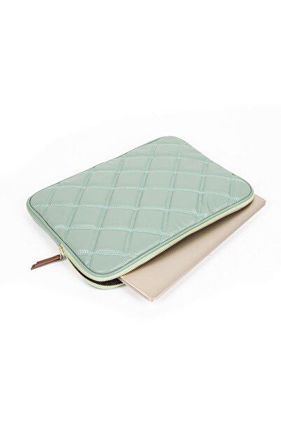 MORCA Macbook Air Pro 13 & 13.3 Inç Laptop Kılıfı Kapitone Mint