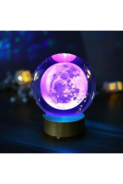 modelhediye Ay Gezegen Cam Küre