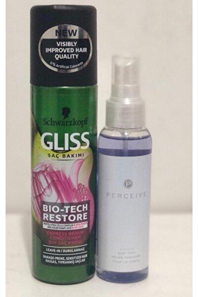 Gliss Bio-tech Restore Sıvı Saç Kremi 200 Ml Alana Avon Perceıve Vücut Sprey