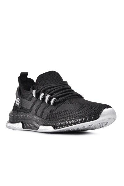 DUNLOP Unisex Siyah Sneaker Spor Ayakkabı
