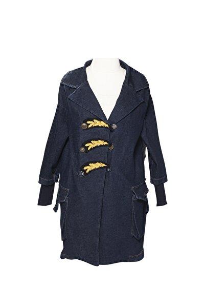 Tuvanam Kadın Lacivert Ceket