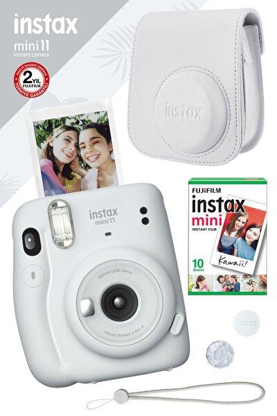 Fujifilm Instax Mini 11 Beyaz Fotoğraf Makinesi Ve Hediye Seti 3