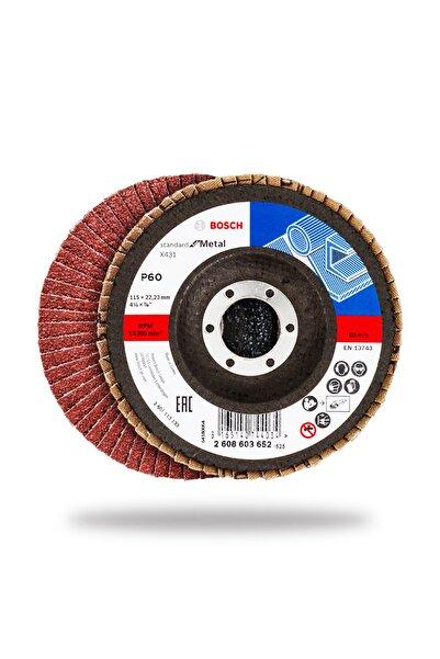 Bosch Flap Zımpara Diski 115 mm 60 10'lu