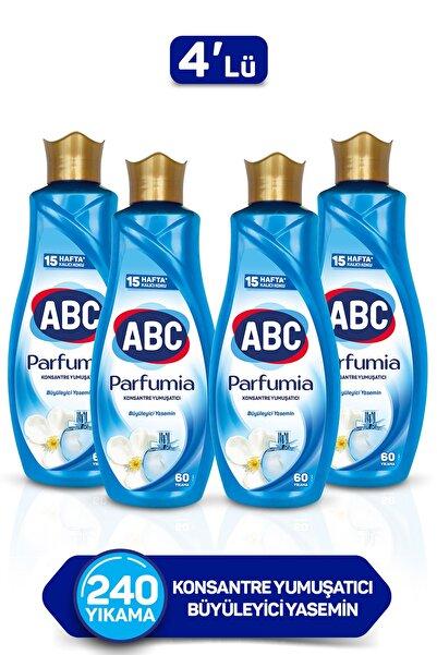 ABC Parfumia Büyüleyici Yasemin Konsantre Yumuşatıcı 1440 ml - 4'lü Seti