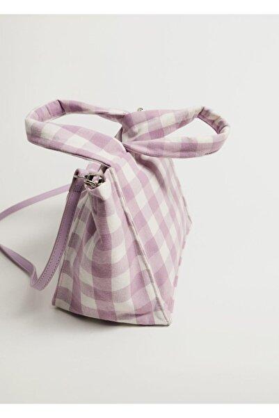 MANGO Woman Mini Kumaş Çanta