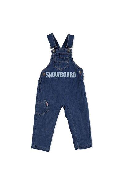 Overdo Erkek Bebek Snowboard Denim İp Askılı Reçme Tek Salopet