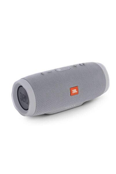 TRENDİST Charge 3 Jbl Bluetooth Hoparlör Kablosuz Taşınabilir Ses Bombası - Gri