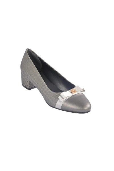 Maje Kadın Platin Topuklu Ayakkabı 6344